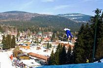 Skoky na lyžích v Harrachově