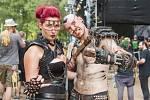 Festival nejtvrdší hudby Obscene Extreme vyvrcholil v Trutnově v areálu letního kina na Bojišti. Byl to 21. ročník.