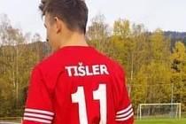 Dvacetiletý Matěj Tišler je rozeným střelcem.