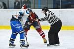 Hokejisté Lomnice nad Popelkou si v dalším kole Krajské ligy Libereckého kraje poradili na vlastním ledě se Slavojem Liberec.