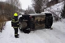 Nehoda v Dolních Lysečinách