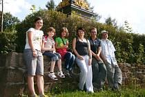 JEDEN Z VÝLETŮ děti absolvovaly například k památníku Gablenz v Trutnově.