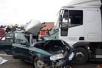 Smrtelná nehoda v Sedmihorkách