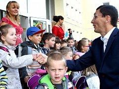 První školní den na ZŠ Komenského Trutnov
