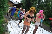 V srpnu na lyžích. V Havlovicích uspořádali letní běh na běžkách.