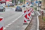 ŘSD opravuje v Trutnově silnici v Polské a Náchodské ulici.