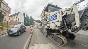 Dopravní manévry v Trutnově