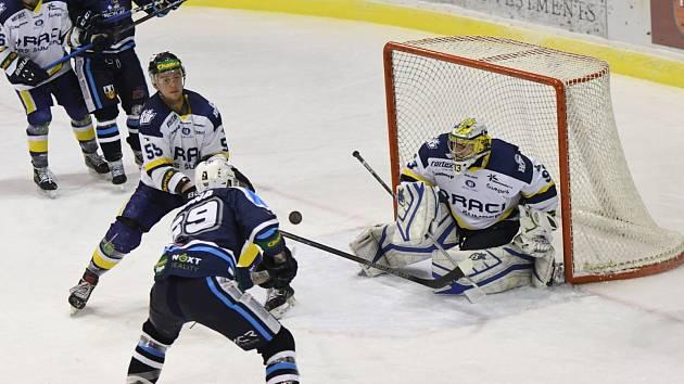 Hokejová Chance liga: HC Stadion Vrchlabí - Draci PARS Šumperk.