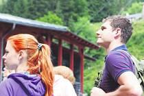 KRKONOŠE NALÁKALY během prázdnin davy turistů, návštěvnost v horských střediscích byla vysoká.