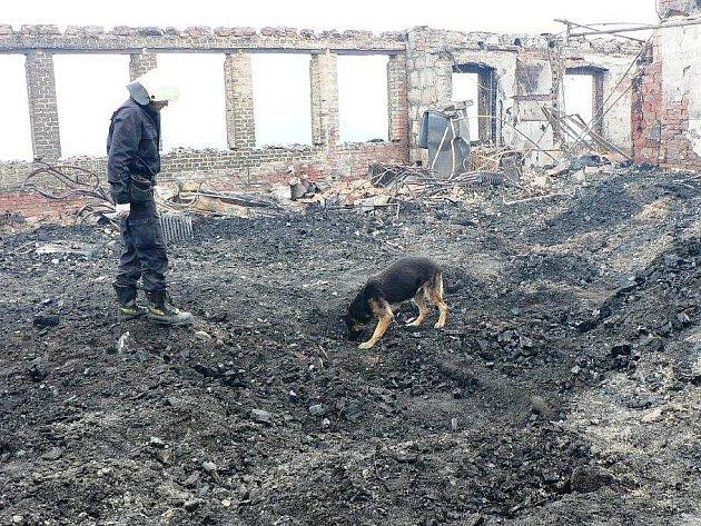 Hasiči vyšetřují požár na Petrově boudě