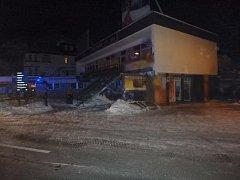 Ve špindlerovském Sportbaru v noci hořelo.
