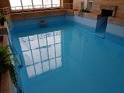 Bazén po úpravách.