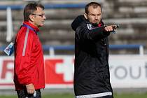Fotbalový klub v Přepeřích se může spolehnout na trenérské duo Josef Petřík mladší a Josef Petřík starší.