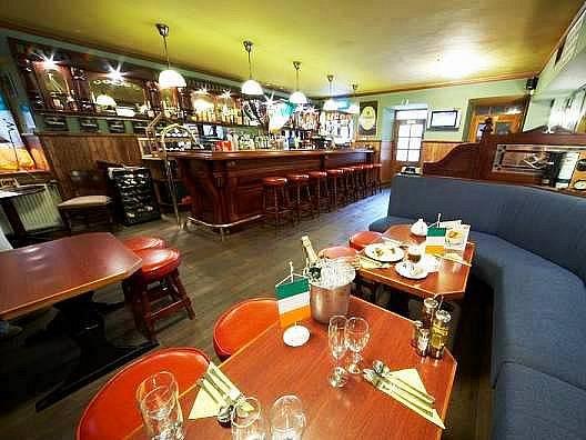 Irská restaurace a penzion