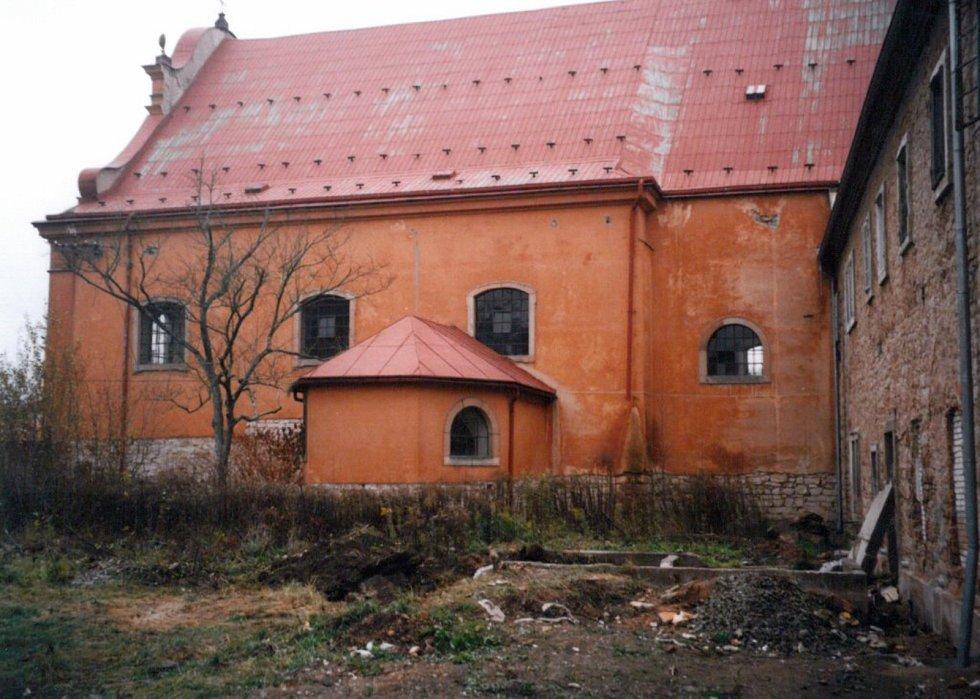 Klášterní kostel, rok 2005.