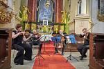 Hudební léto na Kuksu nabídlo další koncert.