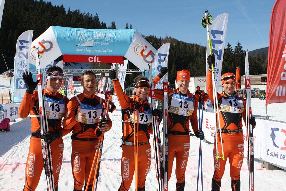 Poslední tři ročníky Krkonošské 70 vyhrál Kasper Swix team z Trutnova.