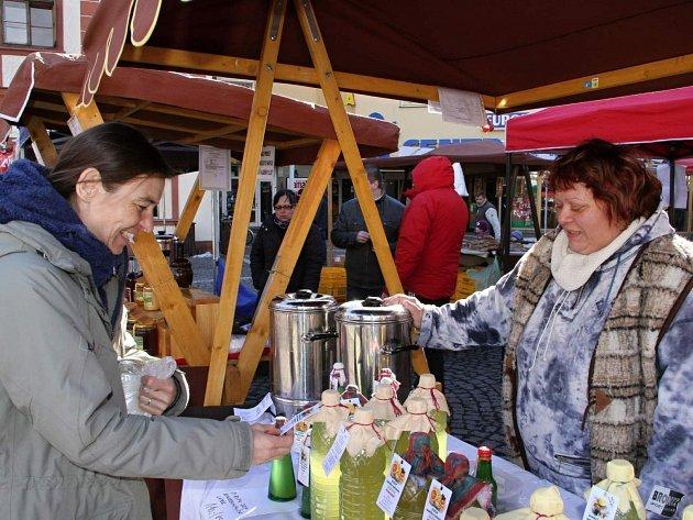 Farmářské trhy dorazily do brány Krkonoš
