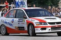 Rally Krkonoše 2010: rychlostní zkouška Starobucká.