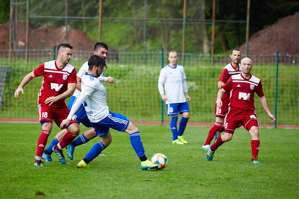 Podkrkonošské derby vyšlo střelecky lépe fotbalistům Trutnova.