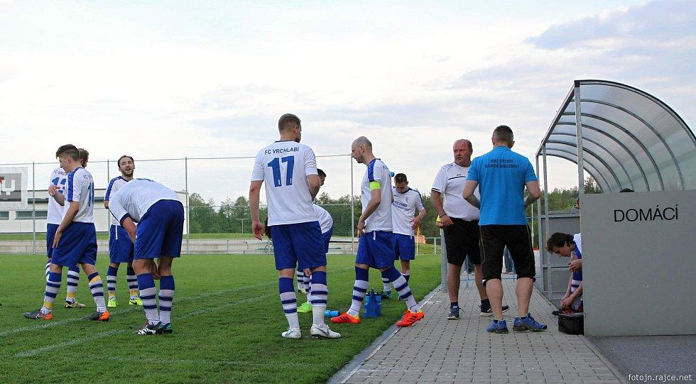 Krajský přebor ve fotbale: Vrchlabí - Libčany.