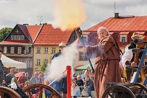 Slavnostní otevření žacléřského náměstí.