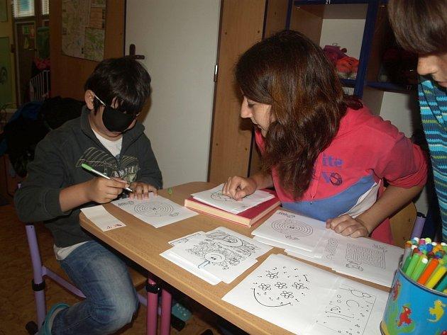 Akce pro děti v Léčebně zrakových vad Dvůr Králové