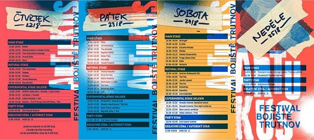 Festivalový program.