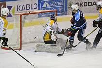 Vrchlabští hokejisté ve 30. kole Chance ligy přehráli Kadaň výsledkem 7:4.