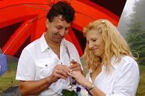8.8. 2008 - svatba na Růžové hoře