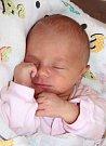 ESTER BOROVSKÁ se narodila 1. května ve 4.03 hodin Lucii Dvořákové a Janu Borovskému. Vážila 2,49 kilogramu a měřila 46 centimetrů. Rodina bude bydlet v Suchovršicích.