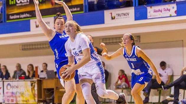 Basketbalistky Trutnova přidaly na palubovce Teamstore Brno čtvrté vítězství v sezoně a poskočily na 6. místo ŽBL.