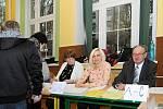 Prezidentské a senátní volby ve Vrchlabí.