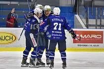Nečekaný úspěch slavili hokejisté Kolína v souboji dvou nováčků Chance ligy. Na Vrchlabí jim stačily tři vstřelené branky.