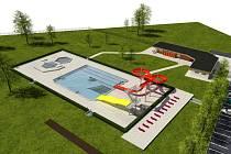 V JILEMNICI se v době sněmovních voleb koná zároveň referendum k projektu nového koupaliště, na kterém několik let pracovalo vedení města.