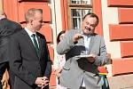 Starosta Jilemnice Vladimír Richter (vpravo) se stal radním pro zdravotnictví Libereckého kraje.