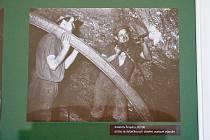 Z výstavy u příležitosti 450 let od nalezení černého uhlí na Žacléřsku.