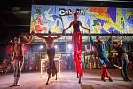 Amanitas. Mezinárodní festival nového cirkusu Cirk-UFF v Trutnově.