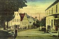Historický snímek Rtyně v Podkrkonoší.
