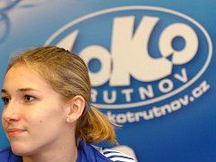 Plavkyně Aneta Pechancová.