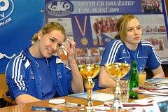 Aneta Pechancová (vlevo) a Martina Elhenická.