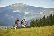 Krakonošův cyklomaraton se uskuteční v sobotu 20. června. Cyklisty prověří stoupání do krkonošských kopců.