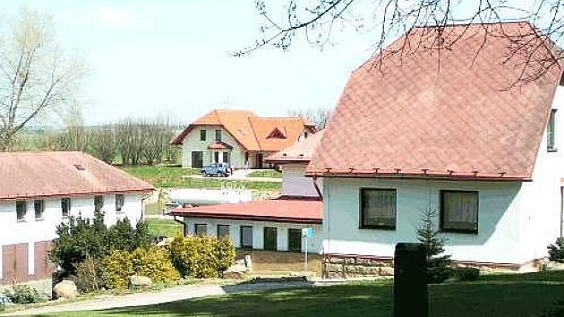 Barevné domky Hajnice