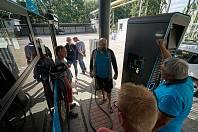 Šťáva pro elektrobusy. Trutnov představil veřejnosti novou dobíjecí stanici pro elektrobusy v Poříčí v sobotu během Dnů evropského dědictví.