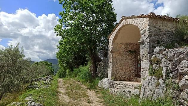 Ivan Mitrus z Martinic v Krkonoších se mohl v Itálii znovu vydat na cestu a pokračovat v putování.