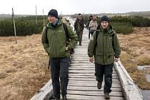 INFRASTRUKTURU KRKONOŠ představili čeští odborníci na ochranu přírody kolegům z Gruzie.