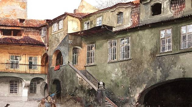 Václav Jansa, Stará škola, 1897