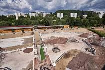 Trutnovské koupaliště dostává novou podobu, mění se hlavně bazény.