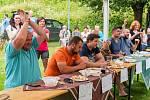 Desátého ročníku Párkyády v Petříkovicích u Trutnova se zúčastnil rekordní počet 35 účastníků.