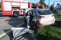 Dopravní nehoda v Kocbeři